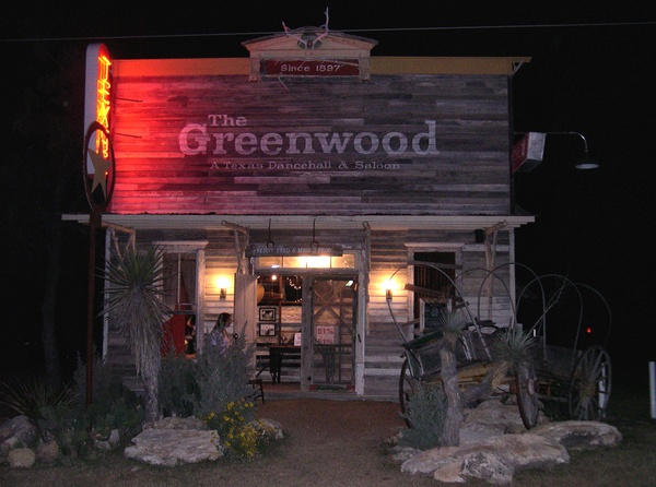 The Greenwood in Bluff Dale Texas - Does this look cool or what?